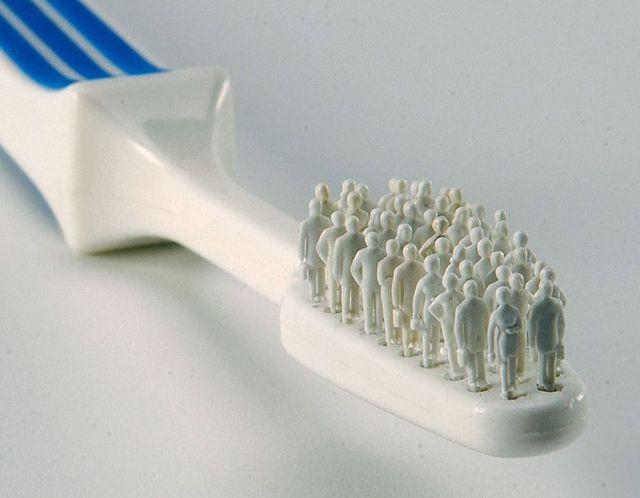 Toothbrush porn