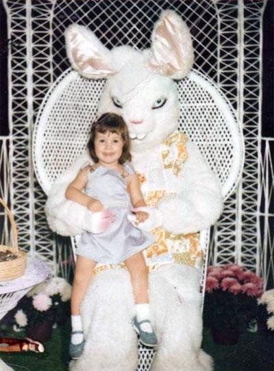 Фотоприкол на тему: Страшный кролик.