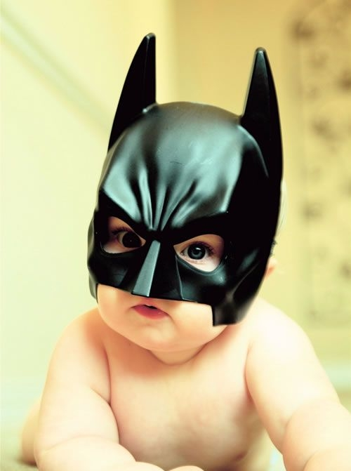 batman baby picture