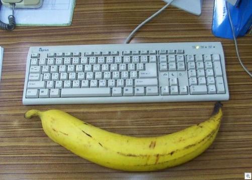Huge banana