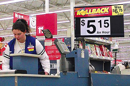 It's always fun to look at funny pictures of people in Walmart stores.