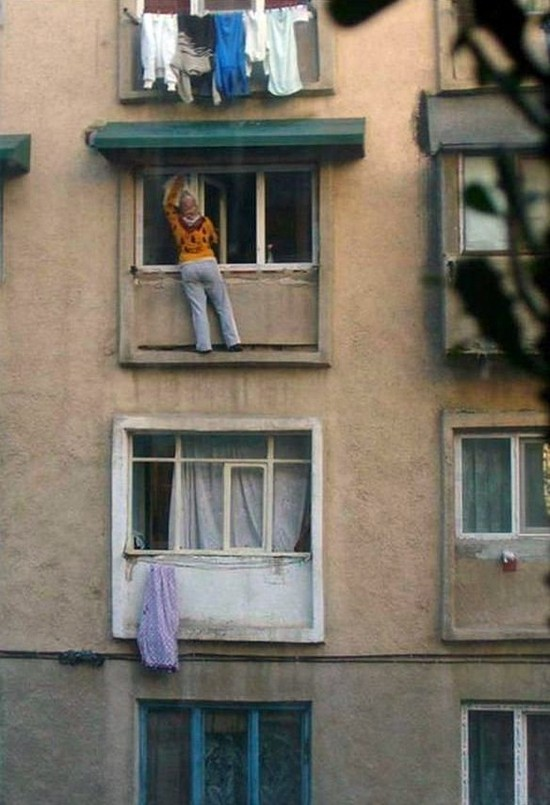 washing windows picture