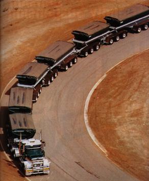 Big road train