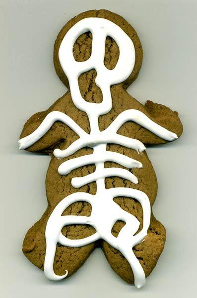 Funny Halloween Cookies
