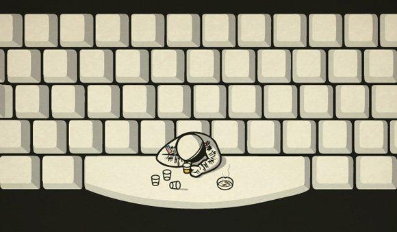 Az űrhajósok a Space Bar-ban isznak