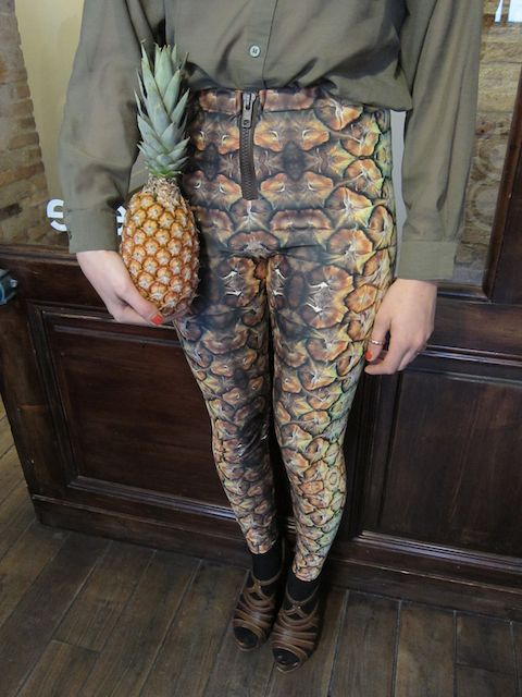 Pineapple pants
