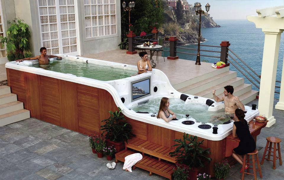 Expensive jacuzzi