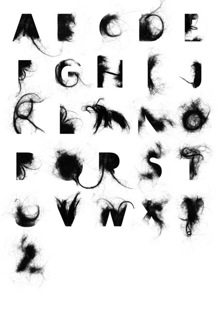 Hair Alphabet