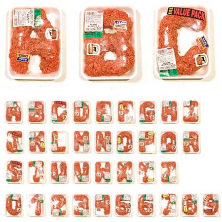 Alphabet Meat