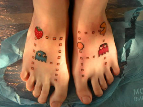 Pac-Man tattoos!