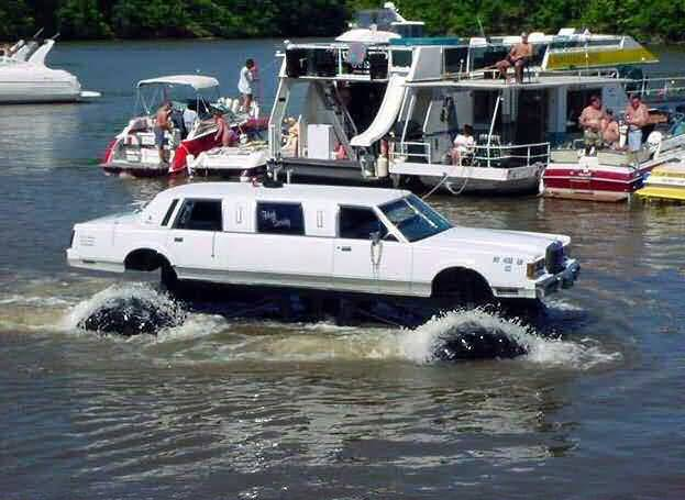 floating limo