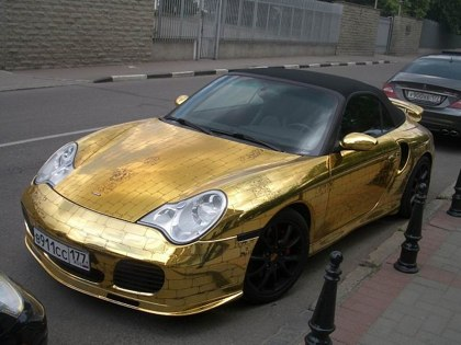 Golden porche