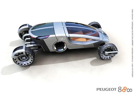 Peugeot 888 car