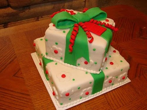Christmas gifts cakes