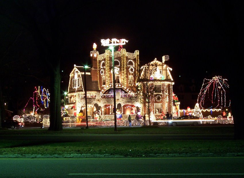 Christmas lights! Funny pictures!