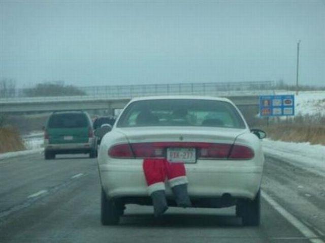 Funny Santa Clauses