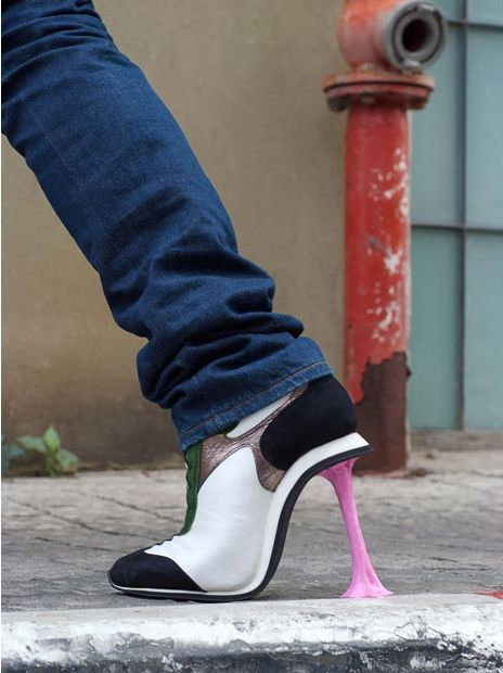 5 extrém magassarkú cipő