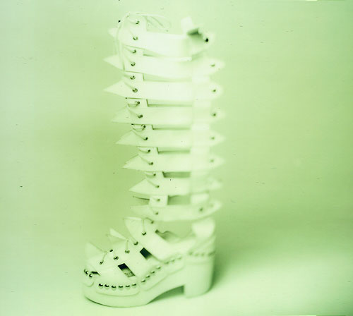 Weird boots