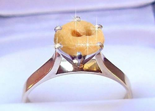 Police wedding ring