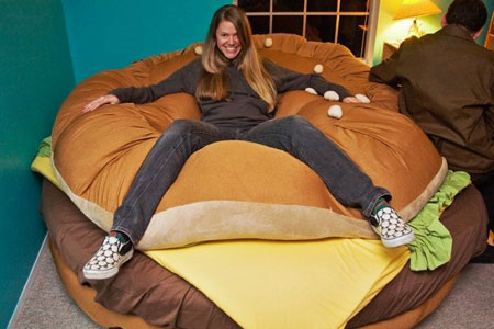 The Hamburger Bed Funny Pictures