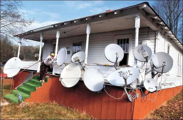 Satellite Television Funny Pictures