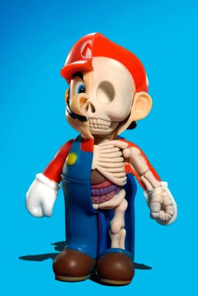 Skeleton Mario Bros
