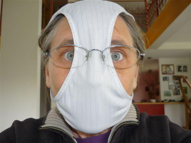 picture of a cheap h1n1 mask