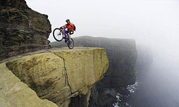 ОПАСНОСТЬ.... Mountain-biking