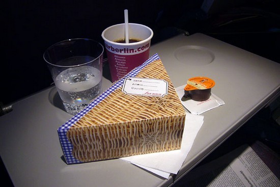 Air Berlin meal