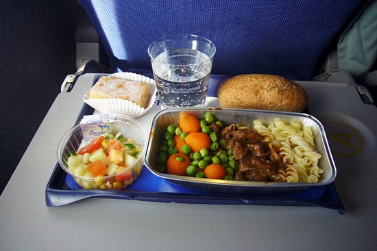 German airlines meal