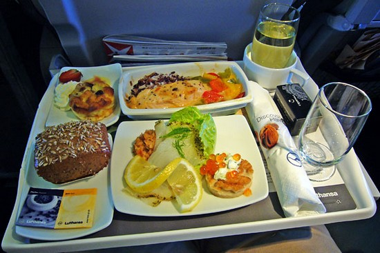 Lufthansa meal