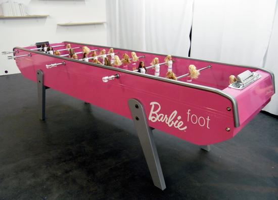 Barbie Foot