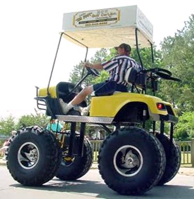 Big golf cart