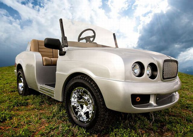 Luxury Golf cart!