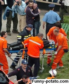 injured stuntman