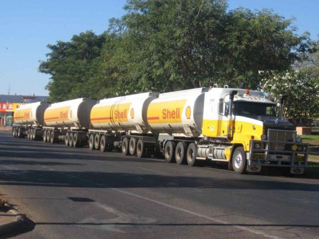 gas roadtrain