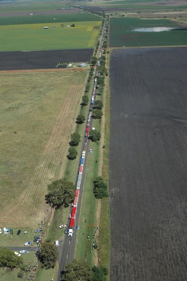 Longest roadtrain in the world