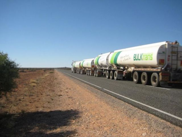 how to back a road train