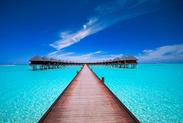 Vacations in the Maldives