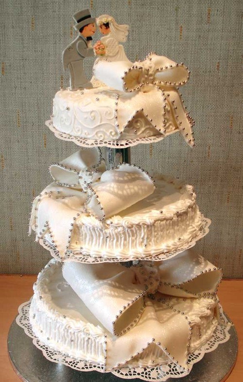 Great wedding cake!