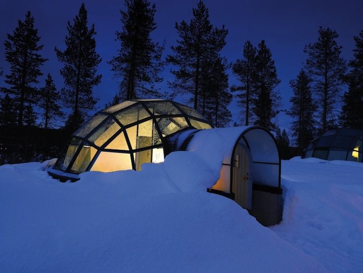 Glass Igloos  Resort of Igloos in Finland